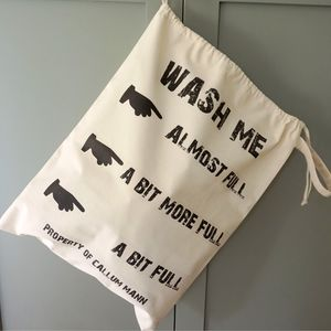 Wash Me Laundry Bag - children's room accessories