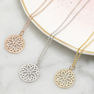 The Purity Mandala Necklace