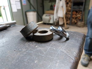 Make A Hand Forged Wedding Ring At Oldfield Forge - unusual activities