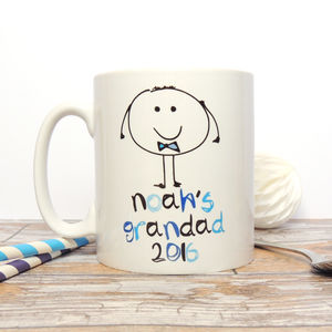 Personalised Grandad/Daddy Mug - gifts for grandfathers