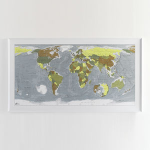World Map Classic