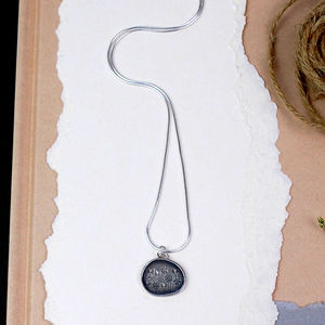 Spring Meadow Silver Pendant - necklaces & pendants