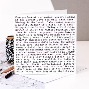 Mother's Day Card; 'Happy Mother's Day' - shop by category