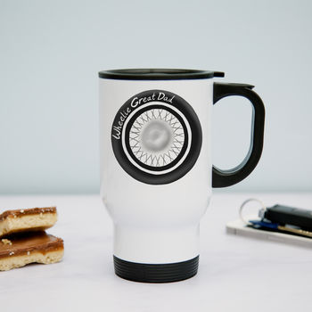 Wheelie Great Dad Travel Mug
