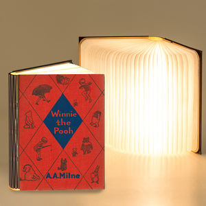 Classic Book 360 Degree Reading And Night Light