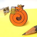 Dachwurst Enamel Pin Badge