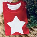 Children's Christmas Star T Shirt – Personalised