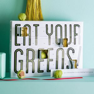 Eat Your Greens Chocolate Sprouts Advent Calendar - chocolates & confectionery