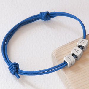 Mens' Personalised Dice Bracelet - bracelets