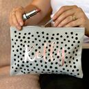 The Spot Personalised Make Up Bag