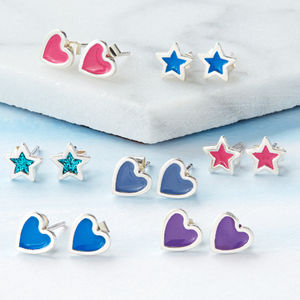 Candyfloss Stud Earrings