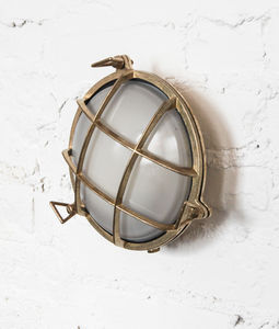 Round Bulkhead Lights For Indoors Or Outdoors - wall lights