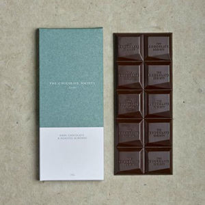 66% Dark Chocolate, Almond And Sea Salt