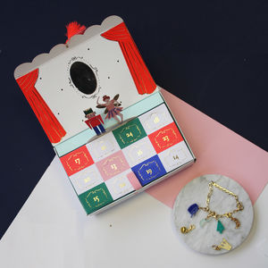 Nutcracker Advent Calendar Charm Bracelet - advent calendars