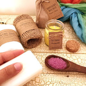 Personalised Vegan Eco Pampering And Relaxing Kit - gift sets