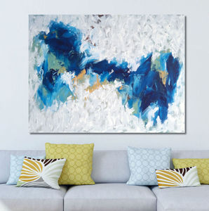 'Distinction' Abstract Canvas Painting