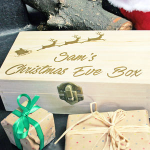 Personalised Christmas Eve Box - christmas eve boxes