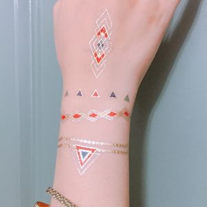 Deco Deco Two Festival Temporary Tattoo - temporary tattoos