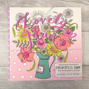 For Mum Grown Up Colouring Book - token gifts