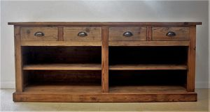 Reclaimed Wooden Sideboard - furniture