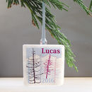 Personalised Fir Trees Christmas Tree Decoration
