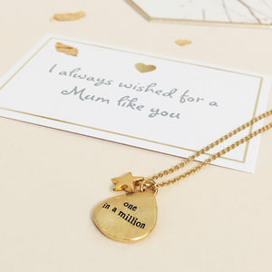 Mothers Day One In A Million Necklace