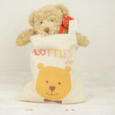 Personalised Bear In A Bag