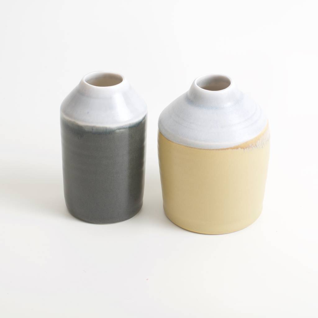 Two Tone Porcelain Bottle