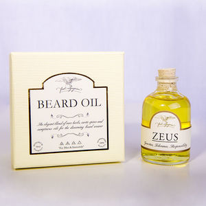Zeus Beard Oil - shaving