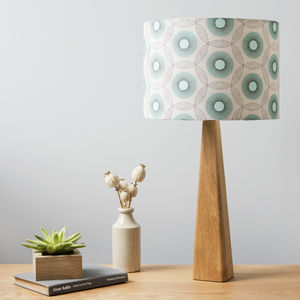 Starburst Lamp And Shade - living room