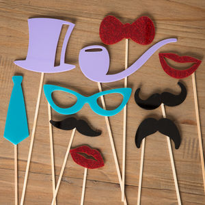 Photo Booth Party Props - party decorations