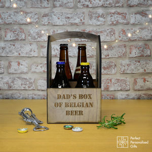 Box Of Belgian Beers - personalised