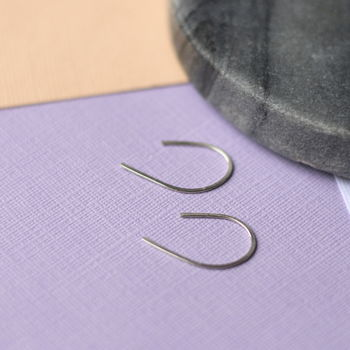 Minimal Curve Earrings