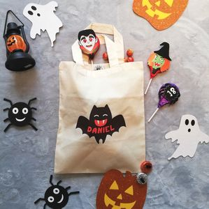 Personalised Halloween Bat Bag - halloween