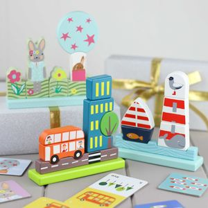 Magnetic Wooden Puzzles - traditional toys & games