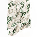 Clementine Kids Jungle Fern Print Blanket