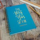 Personalised The Story Of Us So Far Memory Book