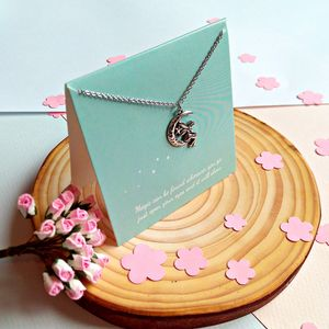 Fairy Necklace Keepsake Card - women's jewellery