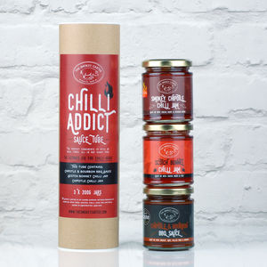Chilli Addict Sauce Tube Gift Set - savouries