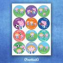 Peppa Pig: Personalised Stickers