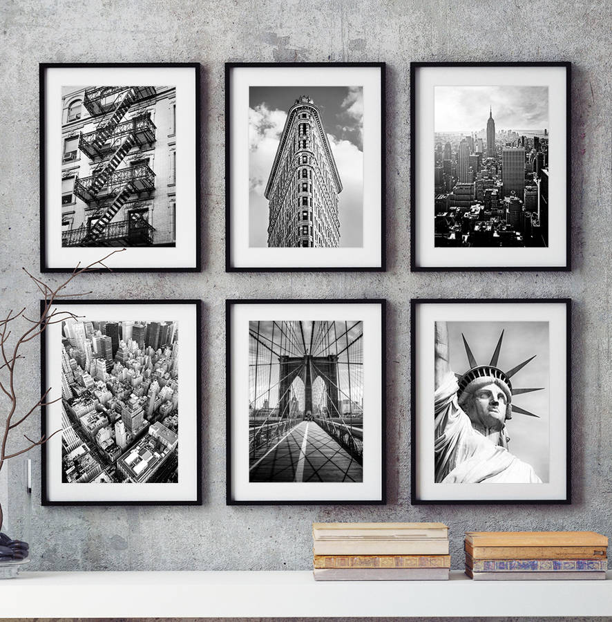 Six New York City Prints
