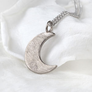 Moon Pendant In 18ct Gold - view all fine jewellery