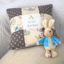 Peter Rabbit© Alphabet Cushion
