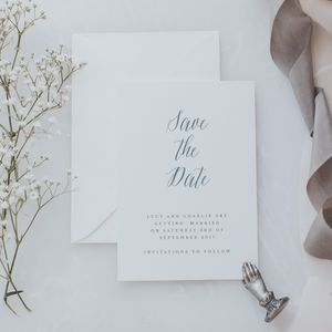 Fantasy Save The Date Card - save the date cards