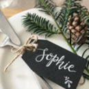 Personalised Slate Place Setting