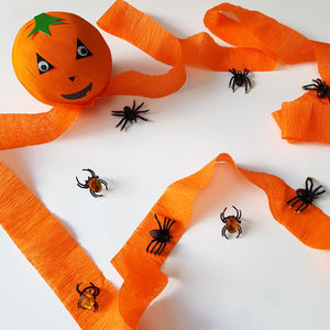 Pass The Pumpkin Game - trick or treat bags