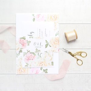 Secret Garden Wedding Invitation Sample Pack - wedding stationery