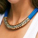 Classic Cobalt Statement Necklace