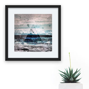 'The Ocean' Mini Photographic Print - photography & portraits