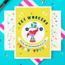 Key Workers Thank You Greeting Card